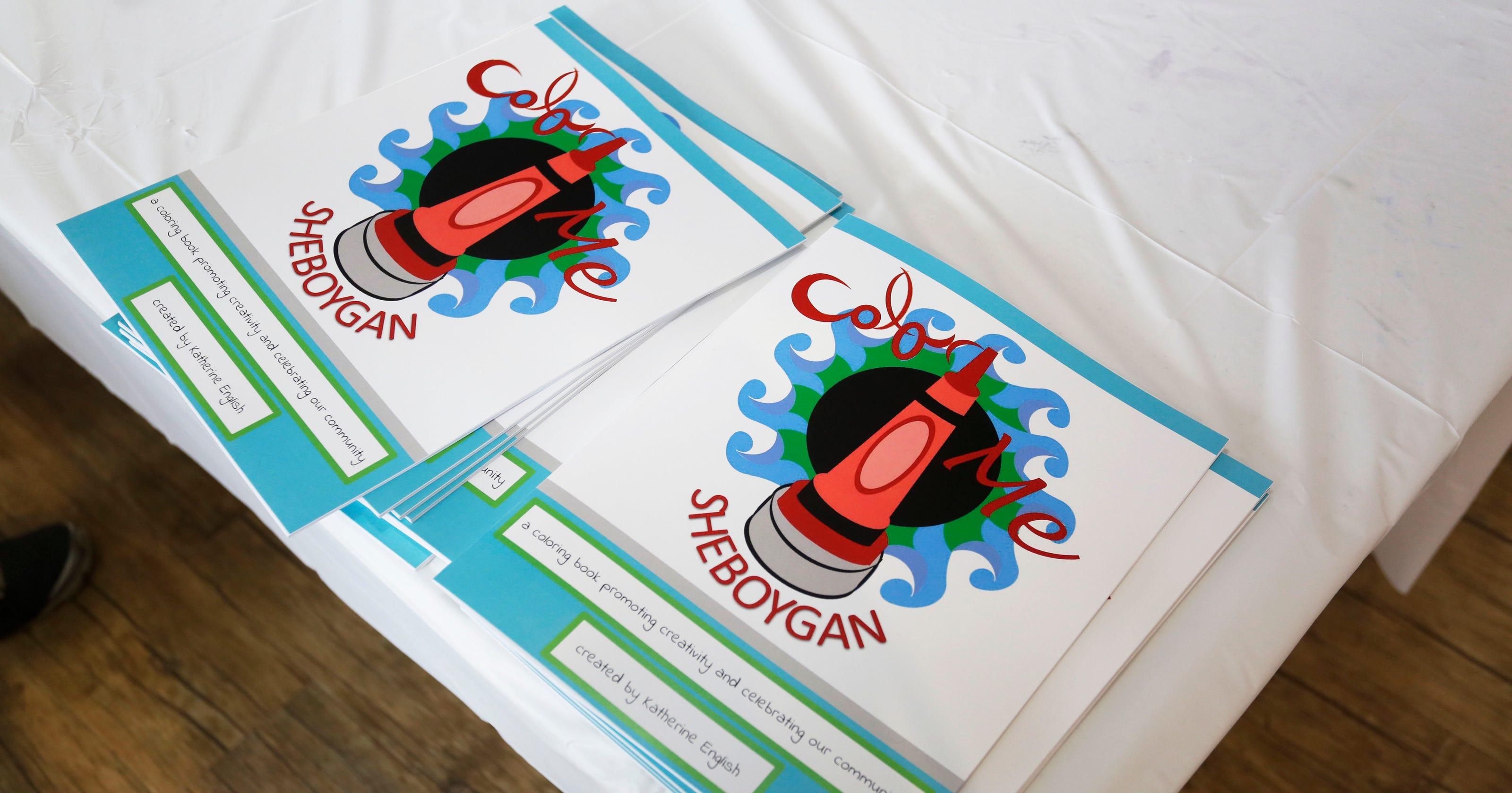 Sheboygan coloring book now available