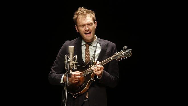 Chris Thile opened his concert at Opening Nights with a mix of Bach, Punch Brothers and Goat Rodeo.