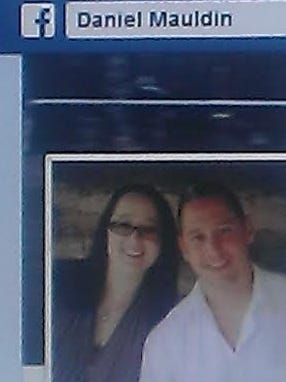 Daniel and Tara Mauldin are shown in a photo from Daniel Mauldin?s Facebook page.