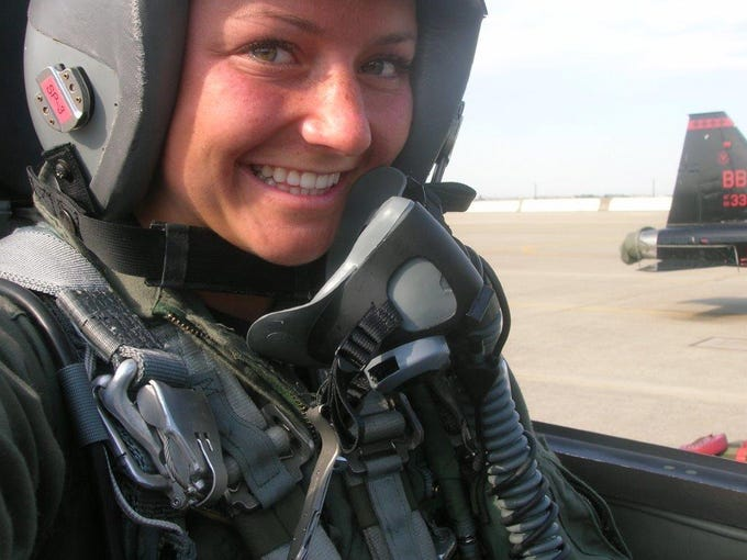 Christy Wise is a military rescue pilot who has completed