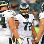 Eagles happy with Vaitai's improvement at right tackle
