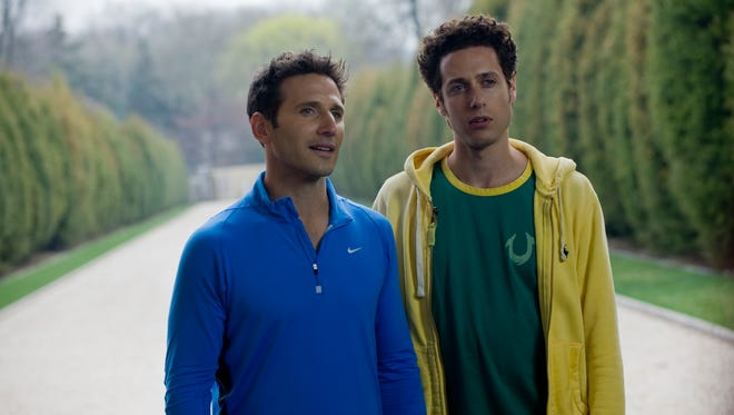 """Mark Feuerstein, left, plays  Hank Lawson, and Paulo Costanzo plays Evan Lawson  in USA's """"Royal Pains."""""""