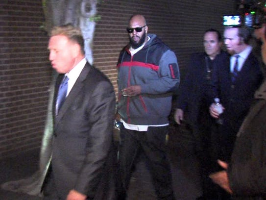 In this Jan. 30 image from video, Marion (Suge) Knight,