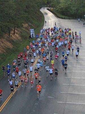 A field of 500 runners will participate in races Sunday morning in Cades Cove.