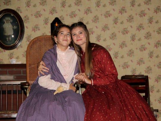 Emma Rubey as Beth and Bethany Stutzman as Jo