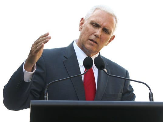 US Vice President Mike Pence Visits Sydney - Day 1