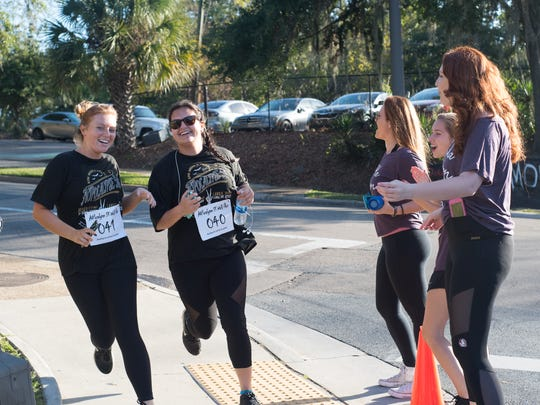 Alpha Omnicron Pi held their annual AOPocalypse 5K at Florida State on Sunday, October 22nd.