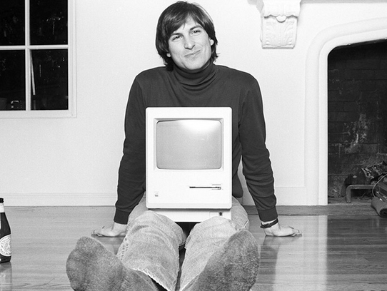 Steve Jobs, co-founder of Apple