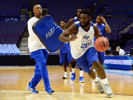 NCAA Basketball: NCAA Tournament-St. Louis Practice