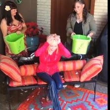 Dolly does the ALS Ice Bucket Challenge