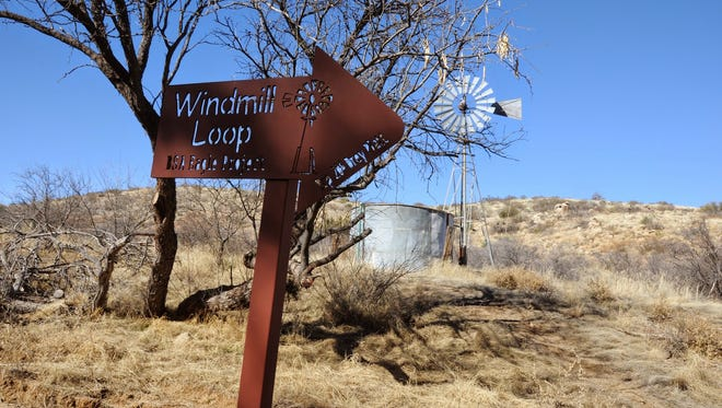 Windmill Loop at Oracle State Park connects with the Arizona Trail.