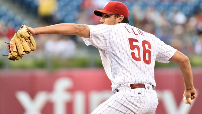 Philadelphia Phillies starting pitcher Zach Eflin underwent surgery on his right knee on Friday to repair the patellar tendon. He will likely need the same surgery on his left knee in about six weeks, however the Phillies are optimistic he will be ready for spring training.