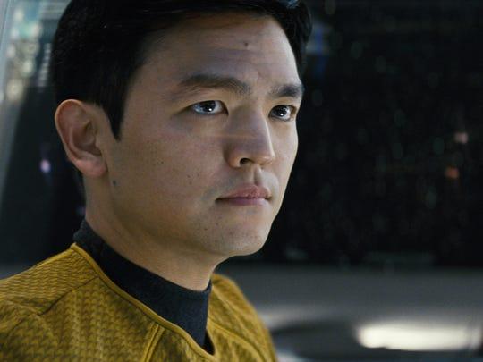 "John Cho stars as Sulu in ""Star Trek."""