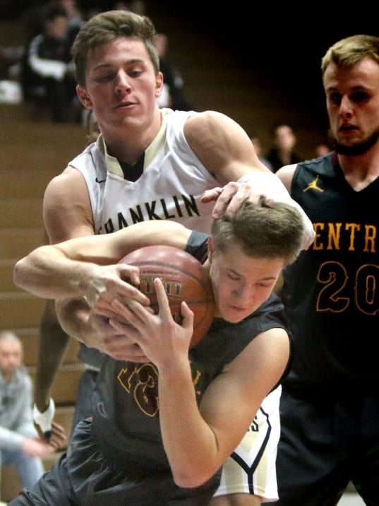 West Allis Central Boys Basketball vs Franklin