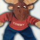 Twelve Tommy the Moose plush dolls were donated to Garden City police and fire departments.