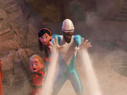 "Frozone returns in ""Incredibles 2."""
