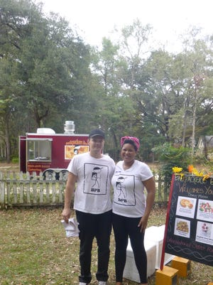 Nia Community Gathering official sponsors: Backpackers Box, a new food truck in Tallahassee, FL. bringing International Street food to your neighborhood.