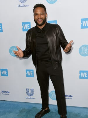 Anthony Anderson arrives at WE Day California at The Forum on Thursday, April 19, 2018, in Inglewood, Calif. (Photo by Richard Shotwell/Invision/AP)