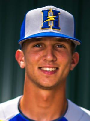 Henderson Flash pitcher/outfielder Cameron Chapman