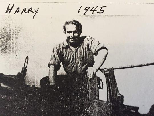 Harry Heckman, a Gunner's Mate Second Class in Navy,