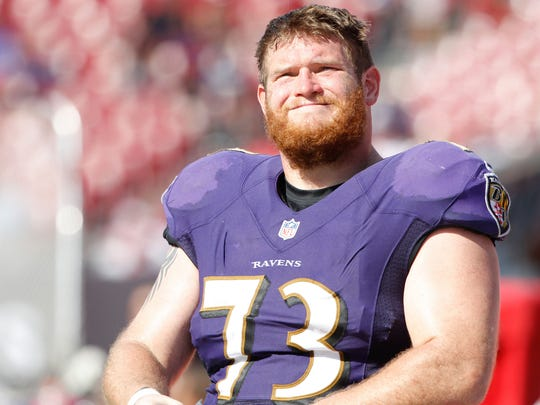 Baltimore Ravens guard Marshal Yanda has made seven Pro Bowls, but still spends his offseasons grinding through workouts with the Iowa Hawkeyes. His shoes are in the building year-round, Iowa strength and conditioning coach Chris Doyle explained Friday.