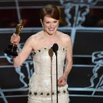 "Julianne Moore accepts the award for best actress in a leading role for ""Still Alice at the Oscars on Feb. 22 at the Dolby Theatre in Los Angeles."