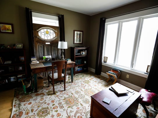 The third bedroom of this 87-year-old bungalow that