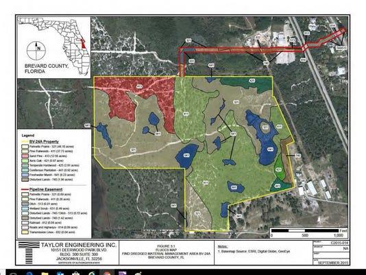 Florida Intracoastal Waterway Map.Florida Inland Navigation District Permit Dredge Intracoastal Waterway