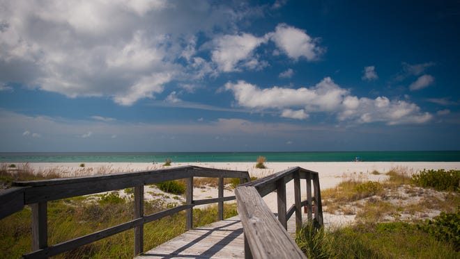 """""""Reader's Digest"""" just named Boca Grande   """"one of the top 10 beaches to visit this summer."""""""