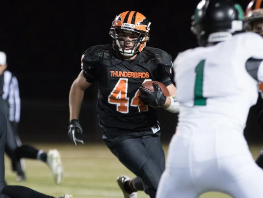 Bryce Huettner has rushed for 5,286 yards and 73 touchdowns over the past two seasons for Iola-Scandinavia.