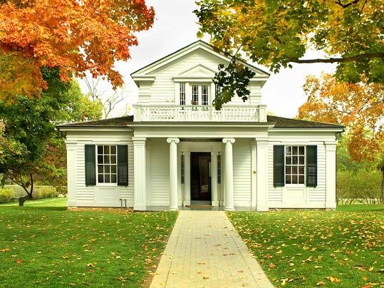 Robert Frost Home - exterior 2