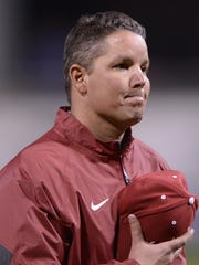 Alabama head baseball coach Mitch Gaspard