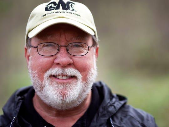 Denny McFadden, program director of the Outdoor Adventure