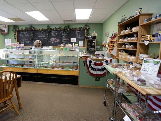The interior of JJ's Bakery in Marshfield, June 28,