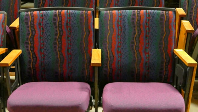 For its 40th year, Fort Collins' Lincoln Center is selling sets of its original theater seats to the public.