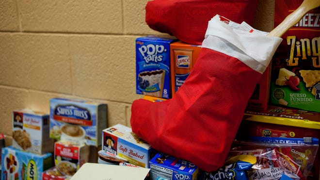 Port Huron Parks and Recreation is selling stockings to be stuffed and sent to a U.S. Army platoon stationed in Kuwait. The stockings, which can be picked up at 2829 Armour St., are $2 and can be filled with candy, toiletries and holiday items.