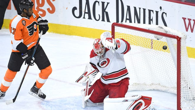 Last time the Flyers played the Hurricanes in Philadelphia, Shayne Gostisbehere ended the game in overtime.