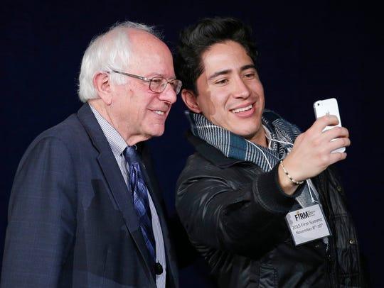 Sen. Bernie Sanders, a Vermont independent seeking