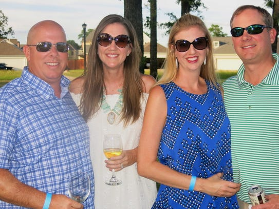 Moss and Michele Duvall, Jessica and Loyd Comegys at