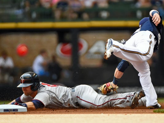 MLB: Minnesota Twins at Milwaukee Brewers