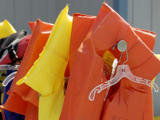 Life jackets are an essential part of water safety, when using boats and for beginning swimmers.