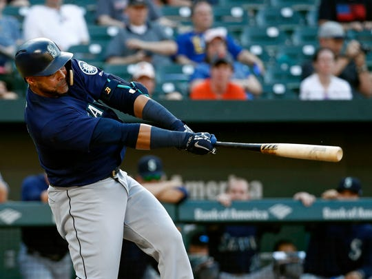 Nelson Cruz had a slow start to the season, but the 38-year-old has 21 home runs and 51 RBI despite missing time to injury.