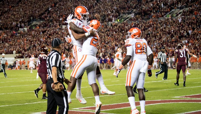 Takeaways From No 2 Clemson S Win At Virginia Tech Tigers