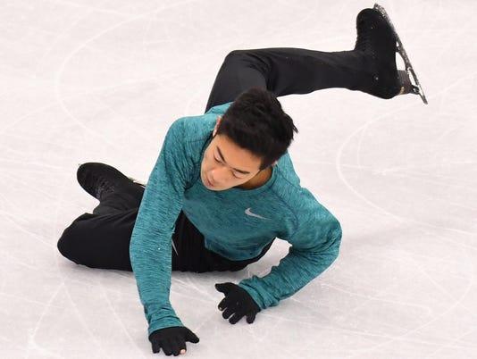 USP OLYMPICS: FIGURE SKATING - TRAINING S OLY KOR