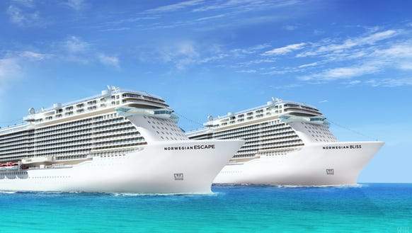 Next Two Norwegian Ships To Be Called Escape Bliss