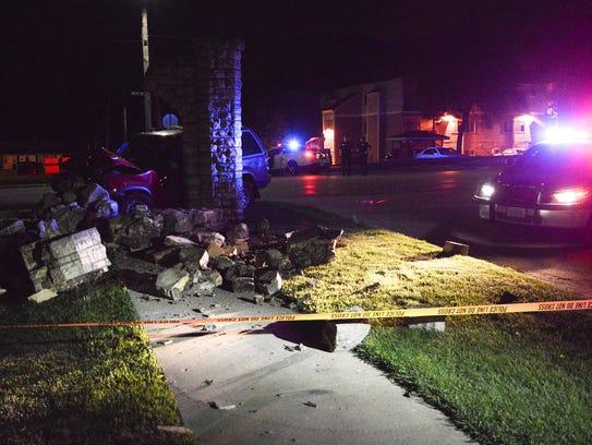 Des Moines police investigate a fatal crash Wednesday