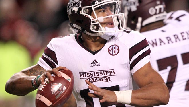 Mississippi State quarterback Dak Prescott was named a third-team All-American by Phil Steele on Thursday.