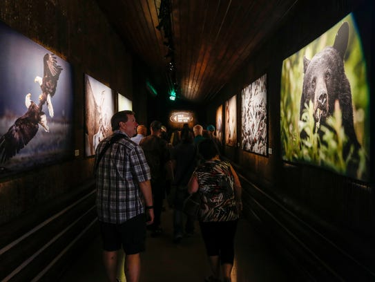 The public got their first look at the Wonders of Wildlife