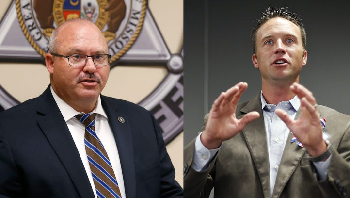 Sheriff asked highway patrol to investigate commissioner. Hough calls it 'intimidation.'