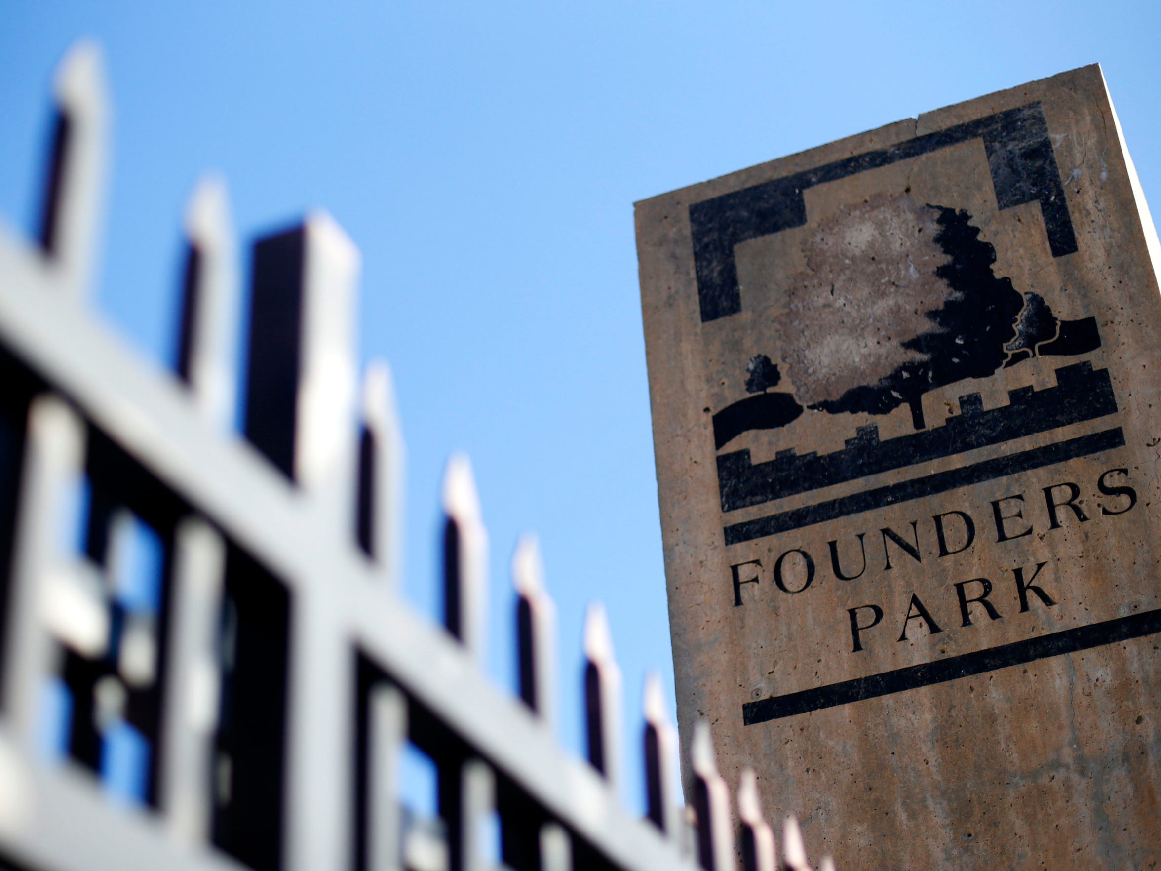 Founders Park, in downtown Springfield, is located where the city's founder John Polk Campbell once lived.